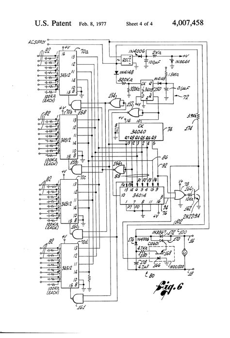 Irrigation Wiring Diagram by Patent Us4007458 Digital Two Wire Irrigation