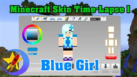 How To Make Minecraft Skin! Time-lapse 2