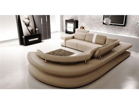 canape angle gauche cuir canapé panoramique en cuir vancouver pop design fr