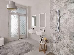 Carreaux De Ciment Salle De Bain : sol salle de bain un shopping tendance pour choisir son ~ Melissatoandfro.com Idées de Décoration