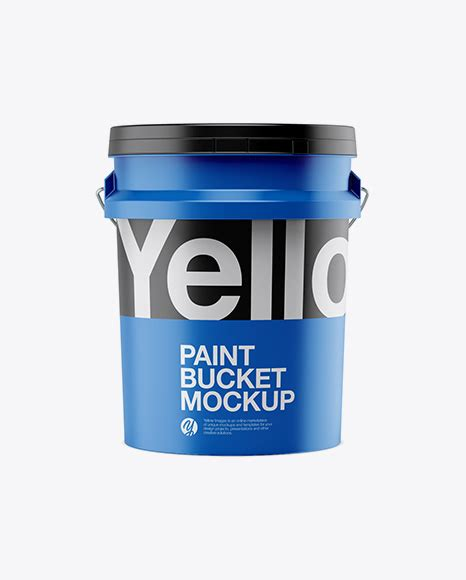 Object mockups, apparel mockups, free 20l matte paint bucket mockup bucket & pail mockups, contains special layers and smart objects for. Download Glossy Paint Bucket Mockup Yellowimages - 5l ...
