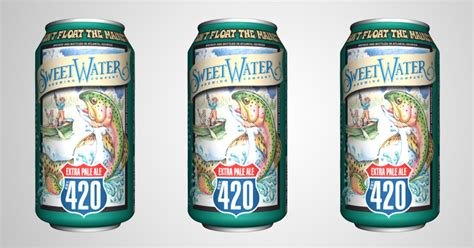 SweetWater Brewing Company | SweetWater 420 Extra Pale Ale