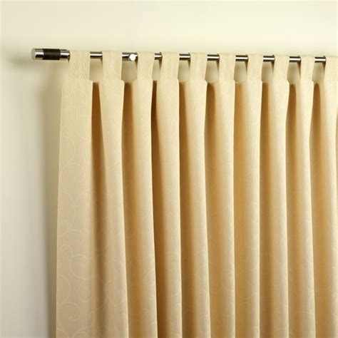 tab top curtains sewing