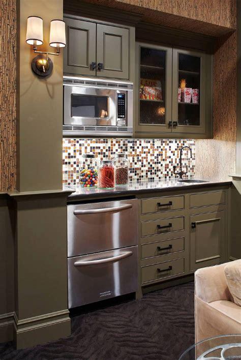 basement kitchenette ideas    entertain