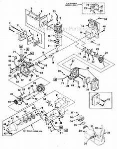 Homelite Hbc30b Parts List And Diagram
