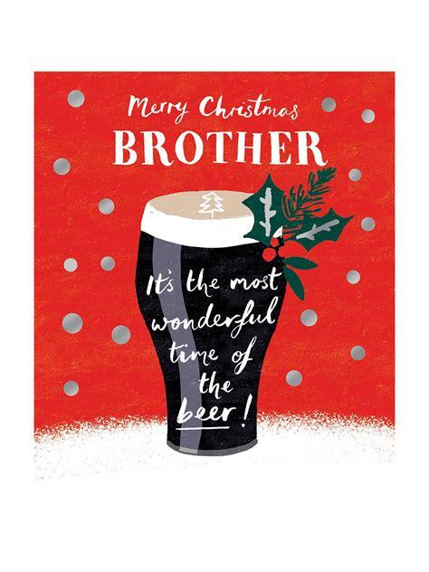 woodmansterne brother beer christmas card  images
