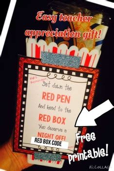 red box teacher appreciation gift tag printable