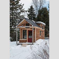 Tiny House  Rustic  Exterior  Burlington  By Cushman