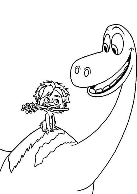 der gute dinosaurier  ausmalbilder kostenlos