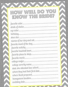 special wednesday top 5 free printable bridal shower games With wedding shower game