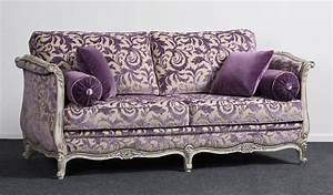 canape lit de repos crosse 2 places style louis xv ref With canapé de style 2 places