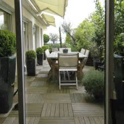 comment amenager une terrasse en longueur
