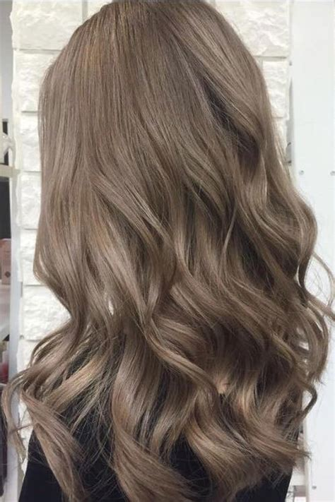 ashy brown hair color brown hair is trending for 2018 southern living