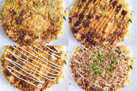 Okonomiyaki Japanese Street Food  Fresh Tastes Blog