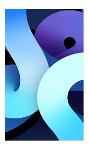 Apple Inc Purple And Blue Shapes HD Abstract Wallpapers ...