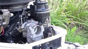 1988 Johnson 25hp New Carburetor Installed