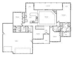 ranch home plans with basements greatroom ranch house plan single level great room ranch