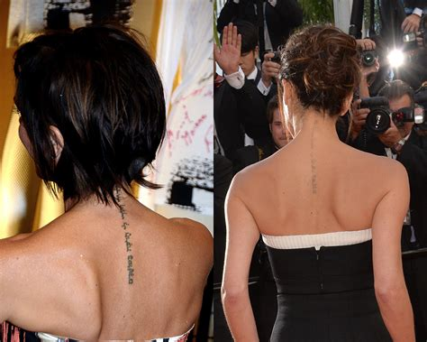 victoria beckham  tattoo removal celebrity