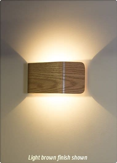 ponton led 5w wall light light brown wall lights led