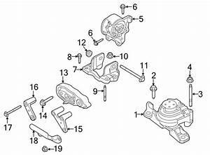 Ford Flex Engine Mount  Liter  Front  Interceptor