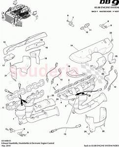 Exhaust Manifolds  Heatshields And Electronic Engine Control For Aston Martin Db9