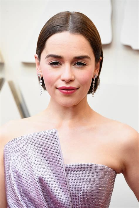 She has also stared in terminator genisys. Emilia Clarke Dyes Hair Brown With Box Dye For Oscars Red Carpet Look - HelloGiggles