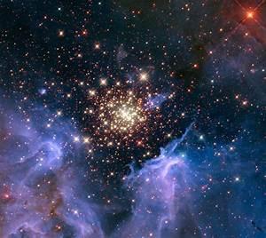 HubbleSite - Picture Album: Starburst Cluster Shows ...