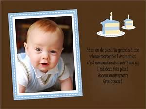 Texte Anniversaire 1 An Garçon : modele lettre anniversaire bebe ~ Melissatoandfro.com Idées de Décoration