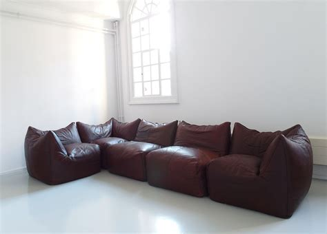 mario bellinile bamboleelement sofaleather leather sofa sectional couch design