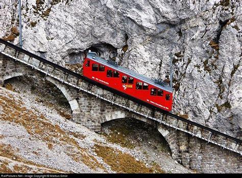 treno a cremagliera 224 cr 233 maill 232 re le plus raide du monde au mont pilatus