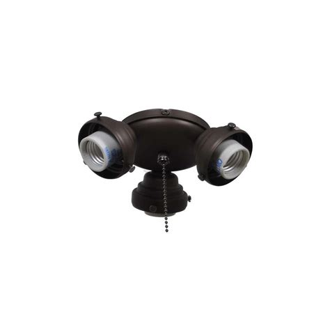 rubbed bronze ceiling fan light kit air cool sinclair 44 in rubbed bronze ceiling fan