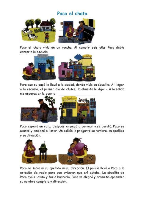 Revisen la lista de títulos que han escrito y. Paco El Chato Lectura Pdf - Libros Favorito