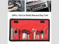 20pcs Car Radio Removal Key Tool Set Kit Audio Tools