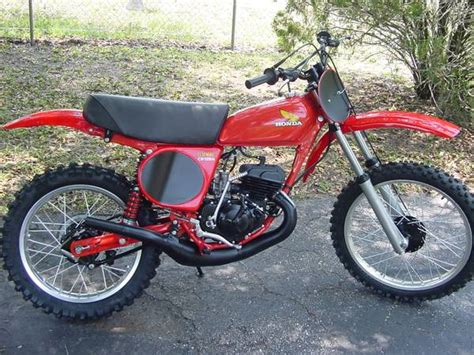 honda motocross bikes for sale 1976 honda cr125 elsinore motocross motorcycle for sale