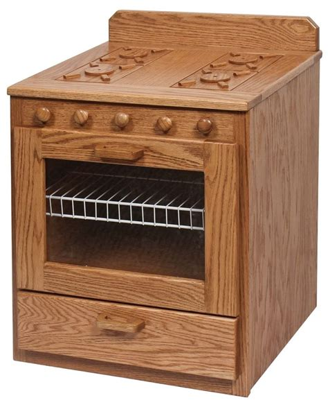 pc kids pretend play kitchen stove refrigerator amish