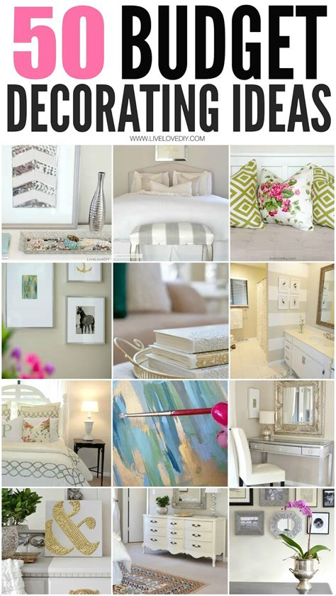 How To Decorate My Bedroom On A Budget 50 Budget Decorating Tips You Should Livelovediy