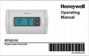Honeywell Rth2310b Owner U0026 39 S Manual