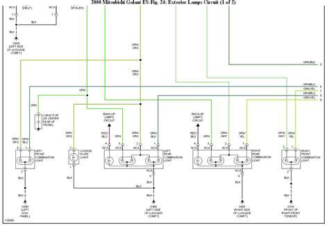 1999 mitsubishi galant wiring diagram wiring diagram and