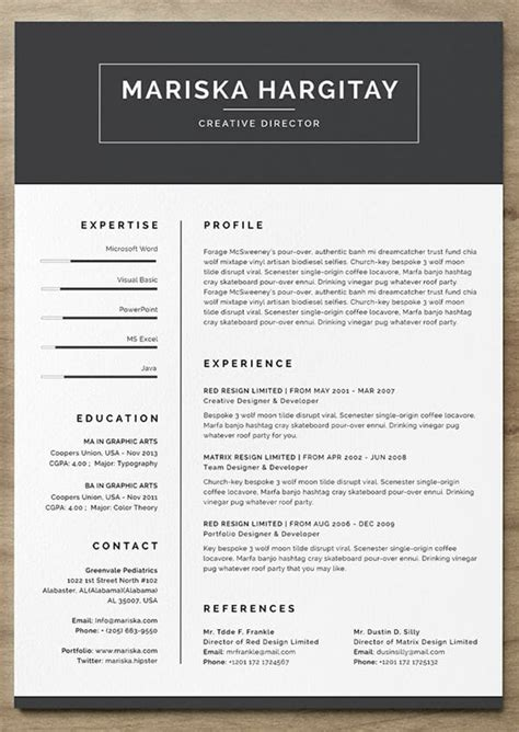 resume templates    land  job
