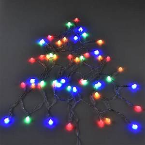 Lichterkette Außen Weihnachten : 50 led kugel lichterkette netzteil innen au en weihnachten bunt weihnachts deko neu ~ Frokenaadalensverden.com Haus und Dekorationen