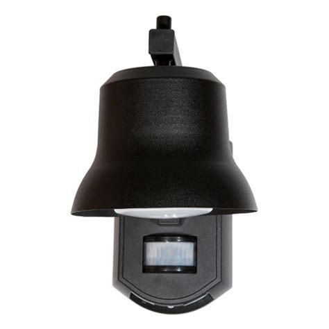 motion light with alarm it 39 s exciting lighting black outdoor porch light with