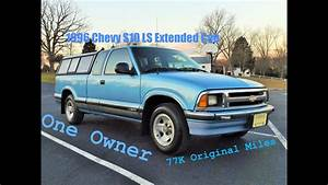 One Owner 1996 Chevy S10 Ls Extended Cab Start Up  Review