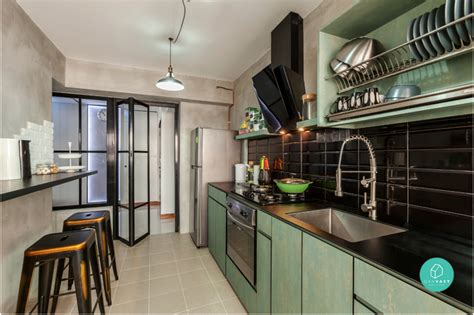 green kitchen island 6 brilliant 4 room hdb ideas for your home