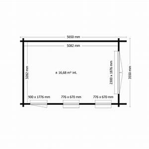 Dimension Garage 1 Voiture : garage en bois 34 mm moins 20 m2 kit en madrier promo ~ Dailycaller-alerts.com Idées de Décoration