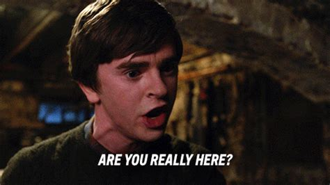 Are You Really Here Bates Motel Gif By A&e  Find & Share On Giphy