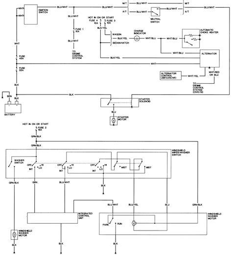 91 crx hf wiring diagram get free image about wiring diagram
