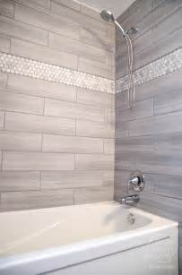 tiling ideas for bathroom remodelaholic diy bathroom remodel on a budget and thoughts on renovating in phases