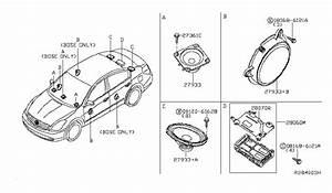 2013 Nissan Altima Sedan Speaker