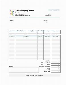a blank invoice blank invoiceblank invoice template free With invoice printing software free