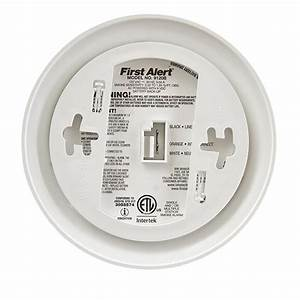 First Alert 9120b Hardwired Smoke Alarm With Battery
